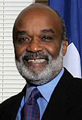 Rene Preval, President of the Republic of Haiti