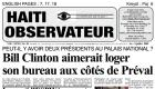 Bill Clinton in Haiti Palais National