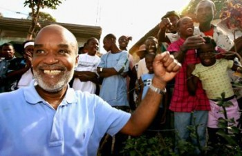 Rene Preval wins presidency
